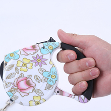Automatic retractable dog leash for small dogs