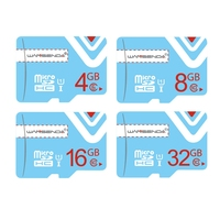 Factory Price Wansenda TF Cards Upgrading Memory Card Micro SD Card 32gb 16gb 8gb 4gb Class