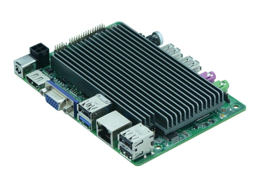 Cheapest Intel Mini PC BOX Board Windows10 Intel Cherrytrail Z8350 Motherboard VGA  LVDS Display