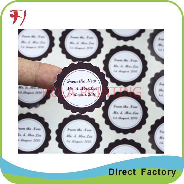 Customized printing custom self adhesive logo stickerscustom adhesive waterproof sticker labels
