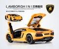 Meizhi Lamborghin * cobrando carro de controle remoto liga brinquedo das crianças gravidade de sensoriamento volante do carro modelo do veículo