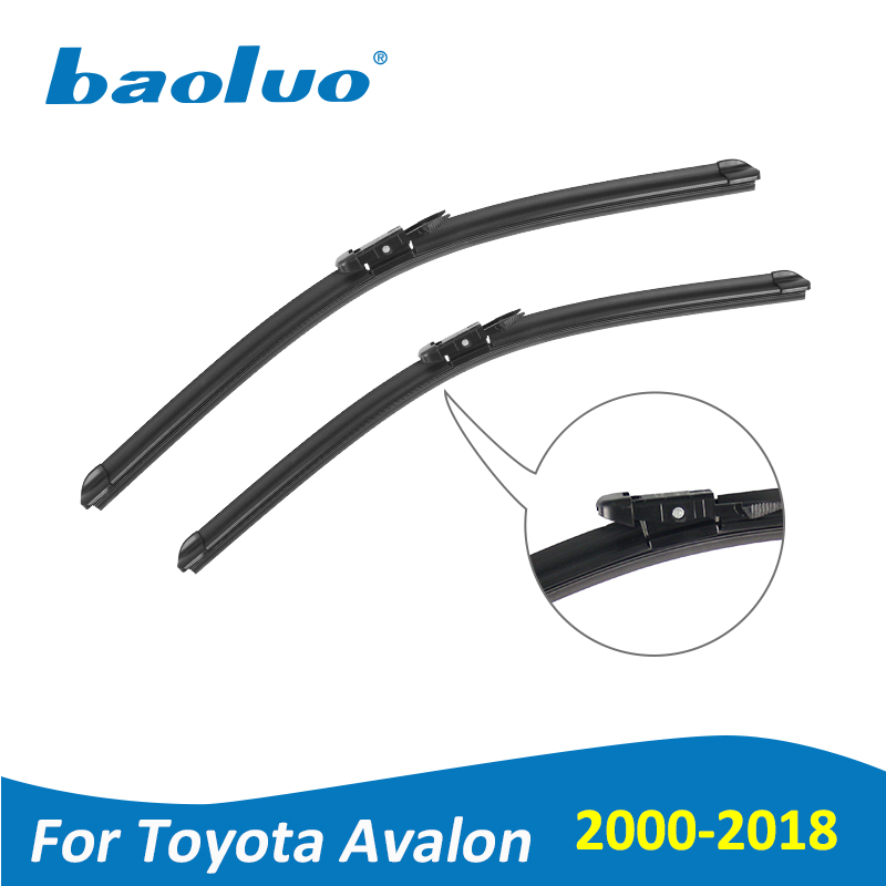 Baoluo Wiper Blades For Toyota Avalon 2000 2018 Natural Rubber Windshield Car Accessories In Windscreen Wipers From Automobiles Motorcycles On