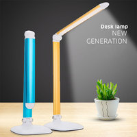 Newest Design White Foldable LED Light Table Lamps Desk Lamps 30 LED Rechargeable Table Lamps With Aluminum alloy