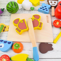 22pcs Children Kitchen Toy Pretend Play Toys Plastic Fruit Vegetables Food Cutting Early Education