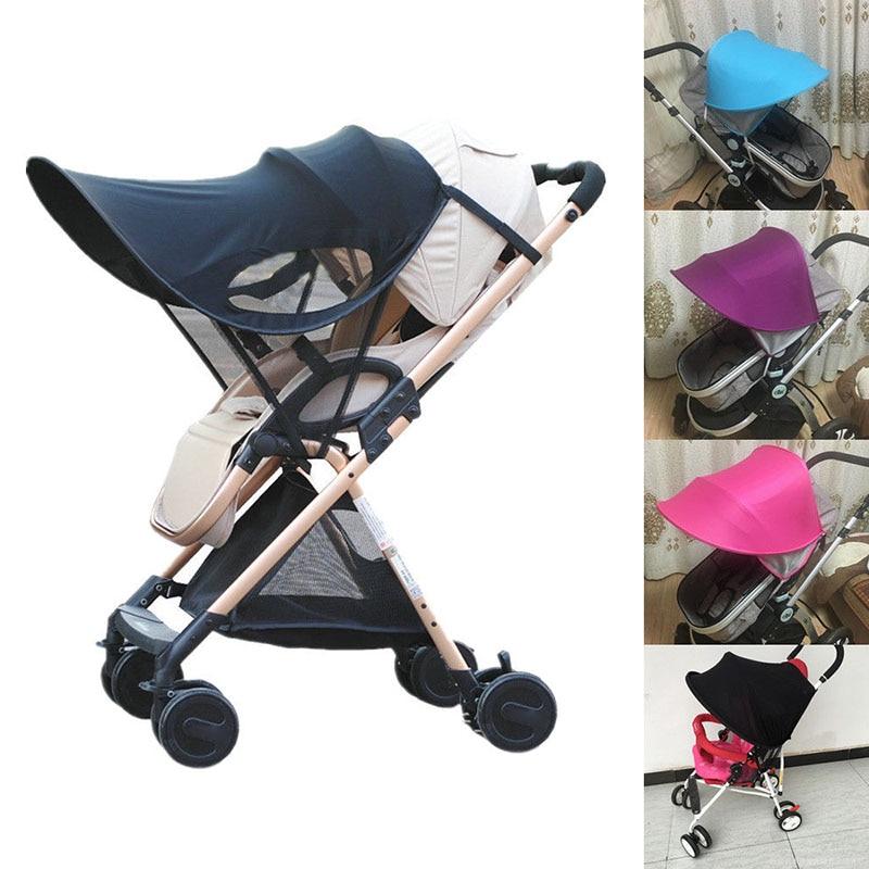 Sun Visor Carriage Sun Shade Canopy Cover For Baby Prams Stroller Buggy Pushchair Cap Hood -17 NSV775