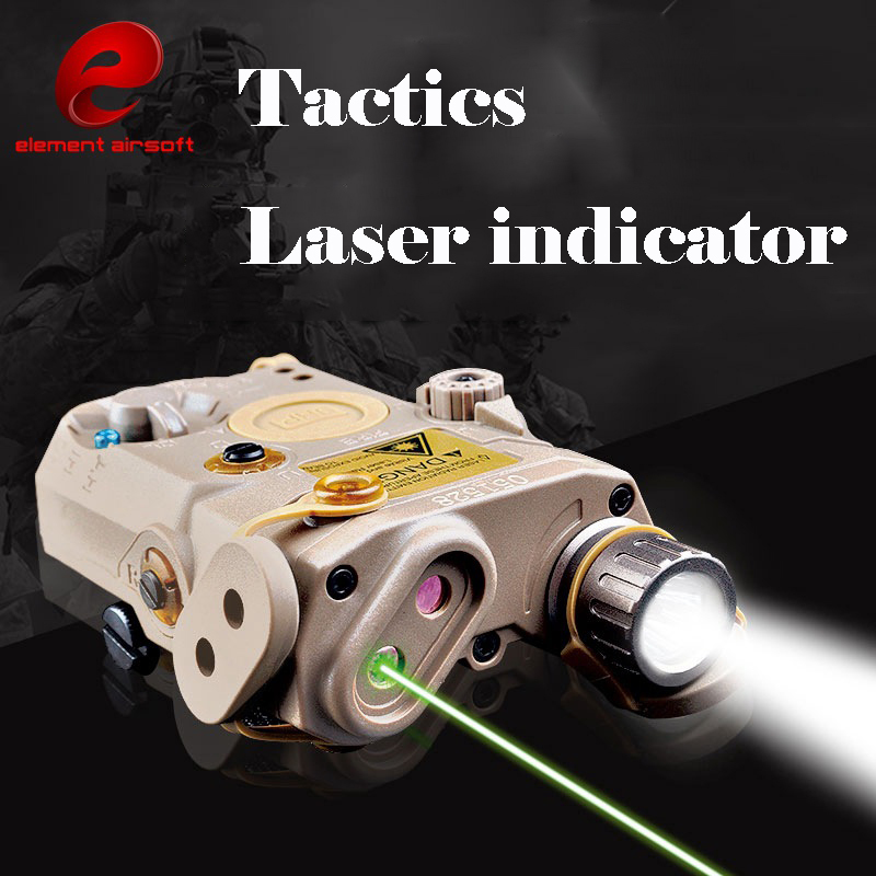 ELEMENT PEQ15/LA-5C outdoor lighting guide helmet tactical green laser laser pointer LED flashlight element green
