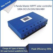LCD 48 В 100A mppt солнечный регулятор 12 В 24 В 36 В 48 В 100A PV регулятор заряда Герметичная Свинцово-Кислотные Вентилируемые Гель NiCd Литий-5KW