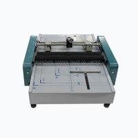 Máquina de plegado eléctrico A3  máquina de plegado 2 en 1  máquina de plegado/máquina de encuadernación automática Máquina de encuadernación     -