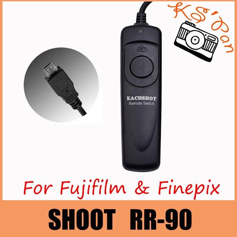 Conector de cable se adapta a Fujifilm finepix rr-90 disparador remoto jjc s-f3