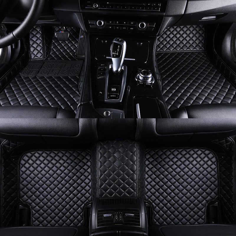HLFNTF מותאם אישית מחצלות רצפת המכונית סובארו כל דגם פורסטר XV אאוטבק LEGACY טרייבקה רכב מחצלות מכונית אביזרי רכב סטיילינג