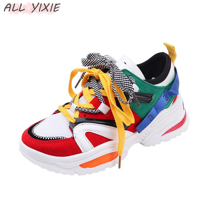 ALL YIXIE 2019 Fashion Women Casual Shoes Spring Summer Leather Flat Thick Bottom Sneakers Flat Thick Sole Female Tennis ShoeALL YIXIE 2019 Fashion Women Casual Shoes Spring Summer Leather Flat Thick Bottom Sneakers Flat Thick Sole Female Tennis Shoe