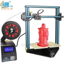 Creality 3D Новый 3D принтер CR-10 мини 3D-принтеры DIY Kit автоматическое возобновление принт после Мощность прерывания + кровать с подогревом нити Подарок