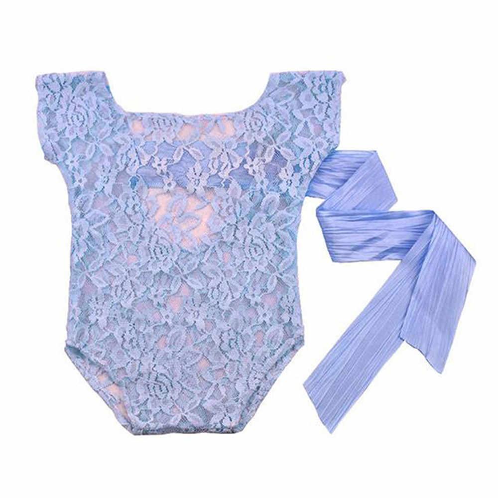 Реквизит для фотосъемки новорожденных; кружевной комбинезон для девочек; одежда с принтом стрельбы реквизит для ребенка; реквизит для новорожденных; фотосессия для младенцев