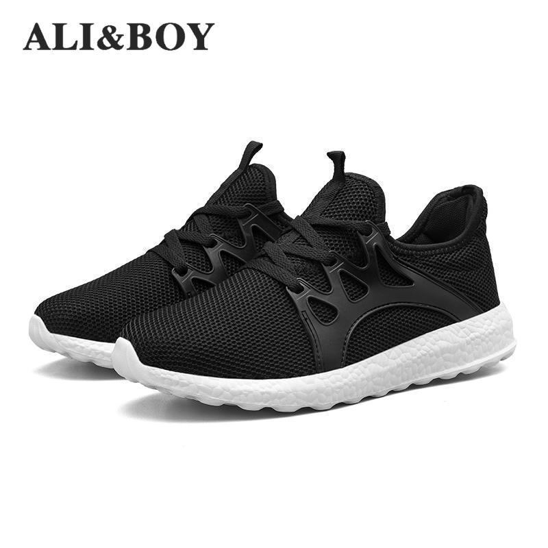 Aliexpress Com Buy Lightweight Summer Outdoor Sports Shoes Men