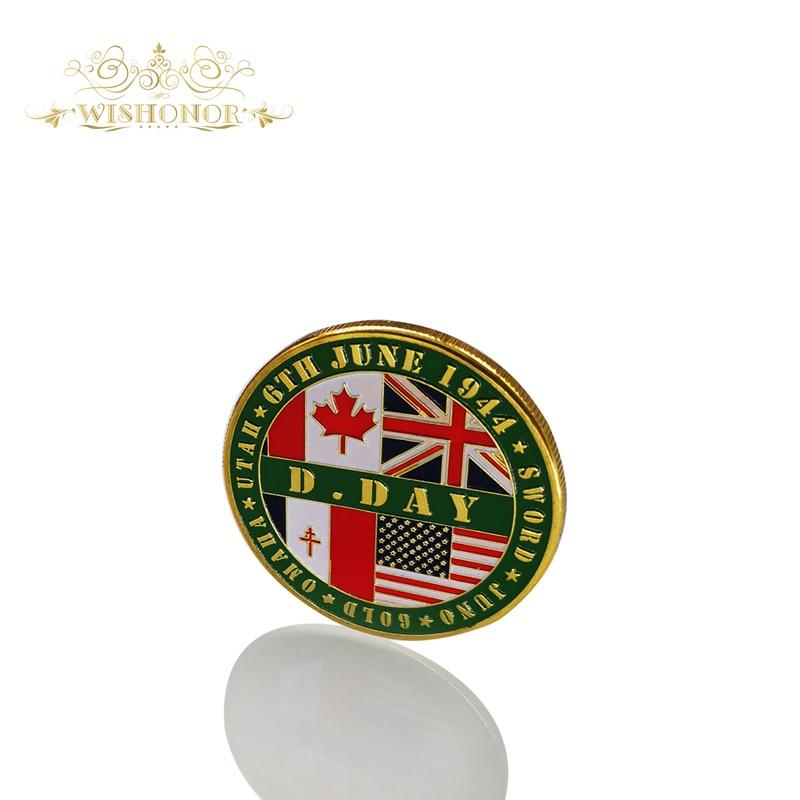 Mejor precio América 1944 Moneda Guardia de honor División de alta - Decoración del hogar - foto 2