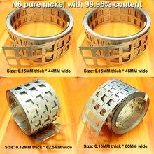 1 kg 99.96% pure nikkel met 18650 power lithium batterij speciale nikkel vel N6 pure nikkel vel puntlassen nikkel vel