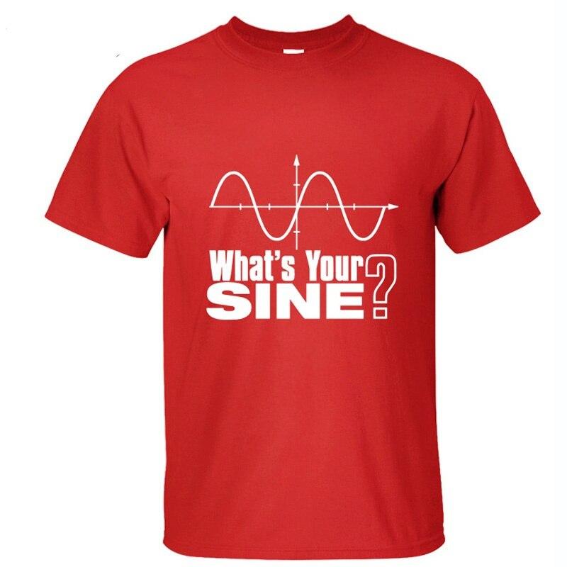 The Big Bang Theory Whats Yor Sine Men Women Cotton T Shirt short sleeve breathable tops XS-XXL