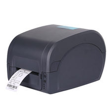 80mm thermal barcode label printer 203DPI with Transfer printing support win8 usb Serial Parallel interface