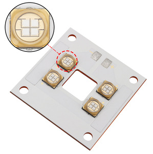 Image 3 - uv 405nm 40W LED Light source lamp panel copper plate integrated light beads violet for ANYCUBIC Photon UV DLP 3D printer parts