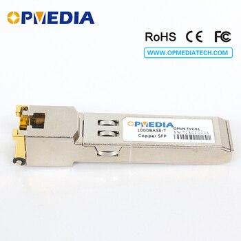 1000Base-T Copper SFP TRANSCEIVER,1000M optical module, RJ45 connector,compatible with huawei equipmet sharetop 1 25g 1000m optical transceiver module multi mode dual fiber sfp 1000m 850nm 550m dual lc port full compatible