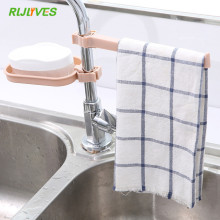 Clip-Shelf Faucet-Clip Sink Storage-Rack Sponge Dish-Cloth Dry-Towel-Organizer Drain