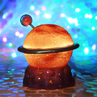 Creative Mini Galaxy Night Light Cute Planet 3d Moon Lamp Bedside Night Lamp Led Kids Night Lights Home Decoration Accessories