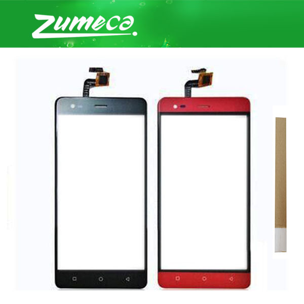 5.5 Inch For Prestigio Grace R5 LTE <font><b>PSP5552Duo</b></font> PSP5552 Touch Screen Digitizer Touch Panel Lens Glass Black Red Color With Tape image