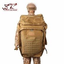 Новое поступление, военный тактический рюкзак, 100л плюс большая вместительность, уличная спортивная сумка, водонепроницаемая 1000D нейлоновая Мужская Сумка для кемпинга