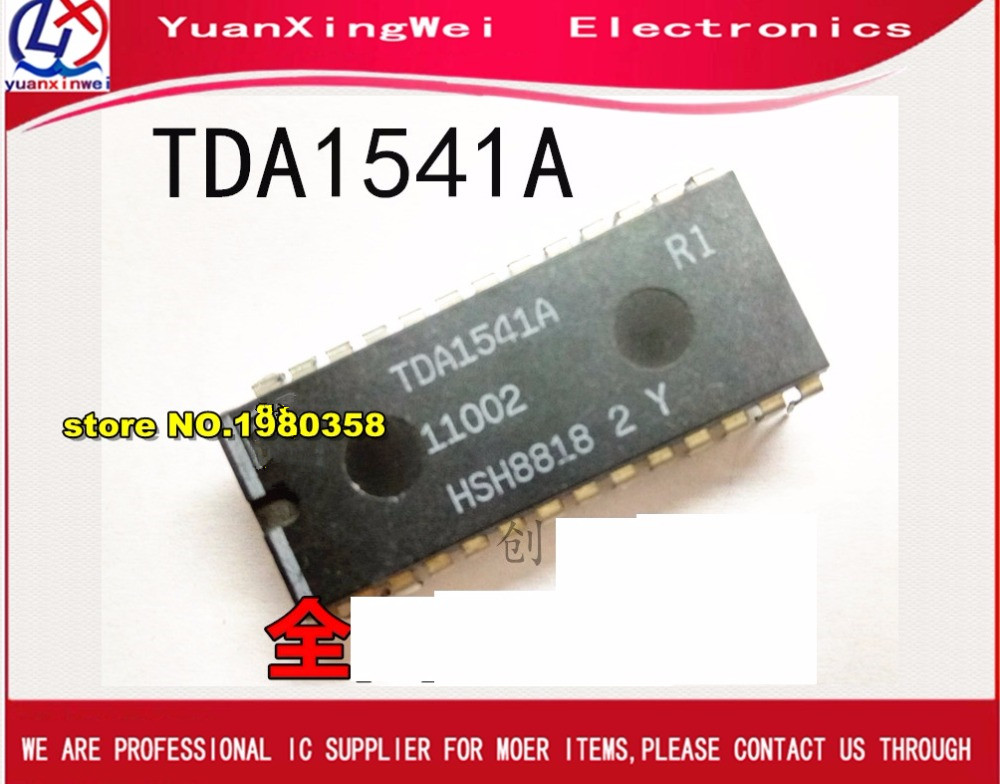 Free shipping  1pcs/lot TDA1541A R1 TDA 1541A DIP28 USED free shipping 1pcs lot kmq7x000sa b315 kmq7x000sa emmc