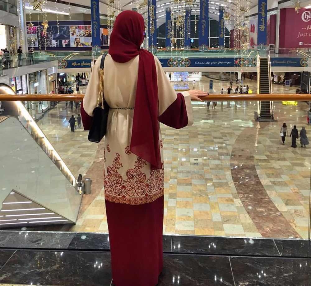 Модные мусульманские платья с принтом абайя кардиган-кимоно длинные халаты Туника Jubah Ближний Восток Рамадан Арабский исламский одежда