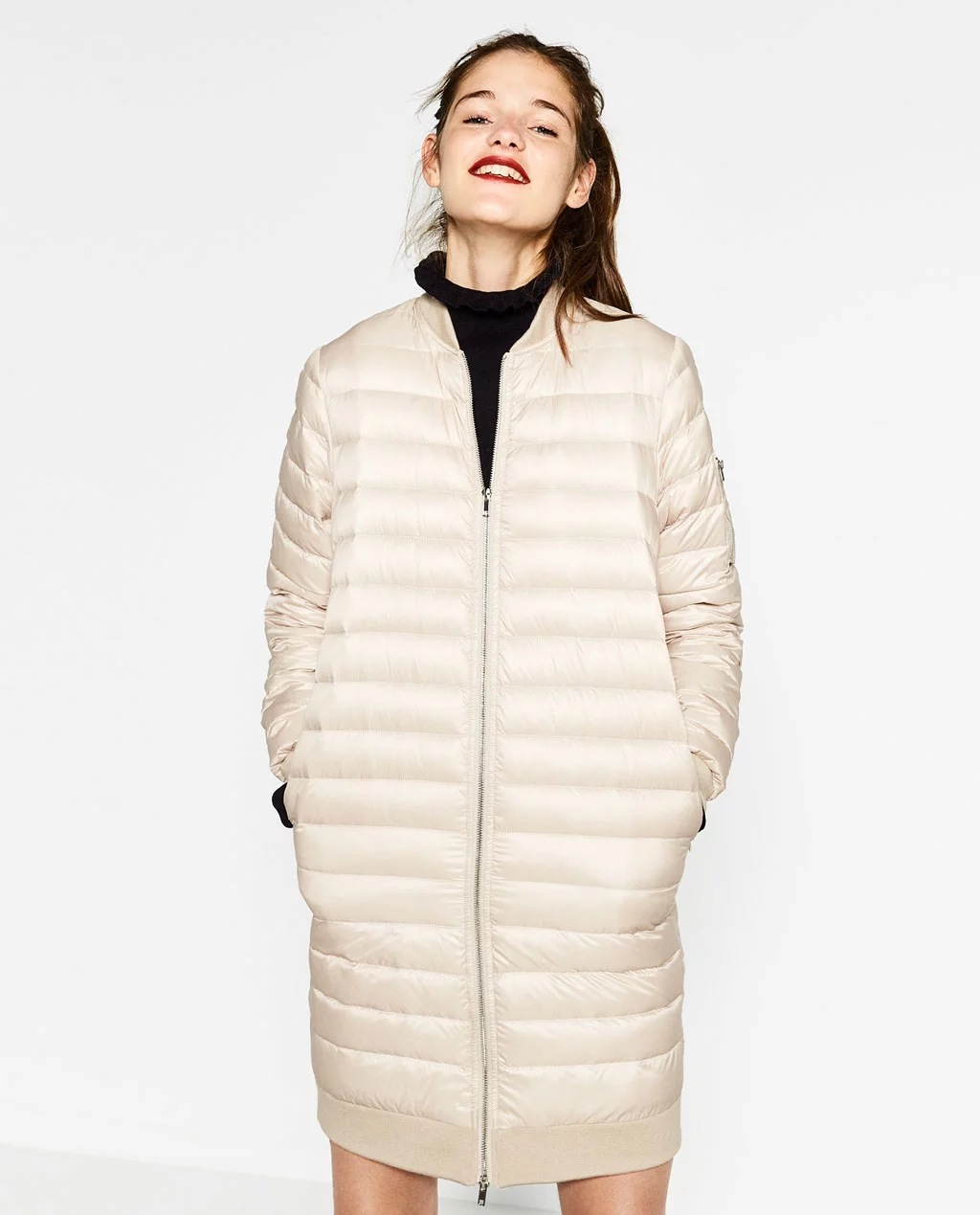 Womens Winter Jackets And Coats White Duck Ultra Light ...