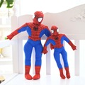 35cm 45cm 60cm spiderman plush toy american movie figure anime stuffed doll great gift for kids boys toy soft PP cotton