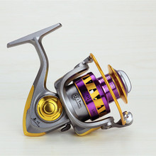 EF1000 – 7000 Series Aluminum Spool Superior Ratio 5.5:1 Spinning Fishing Reels 10BB Folding Arm Baitrunner Carp Spinning Reel