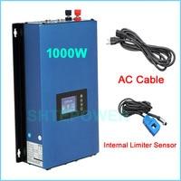 DC 22 65V 45 90V input to AC 110V 120V 220V grid tie inverter solar panels system limiter sensor 1000W 1KW MPPT invertor