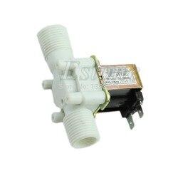 12V Elektrische Magnetventil Magnet DC N/C Wasser Lufteinlass Fluss Schalter 1/2