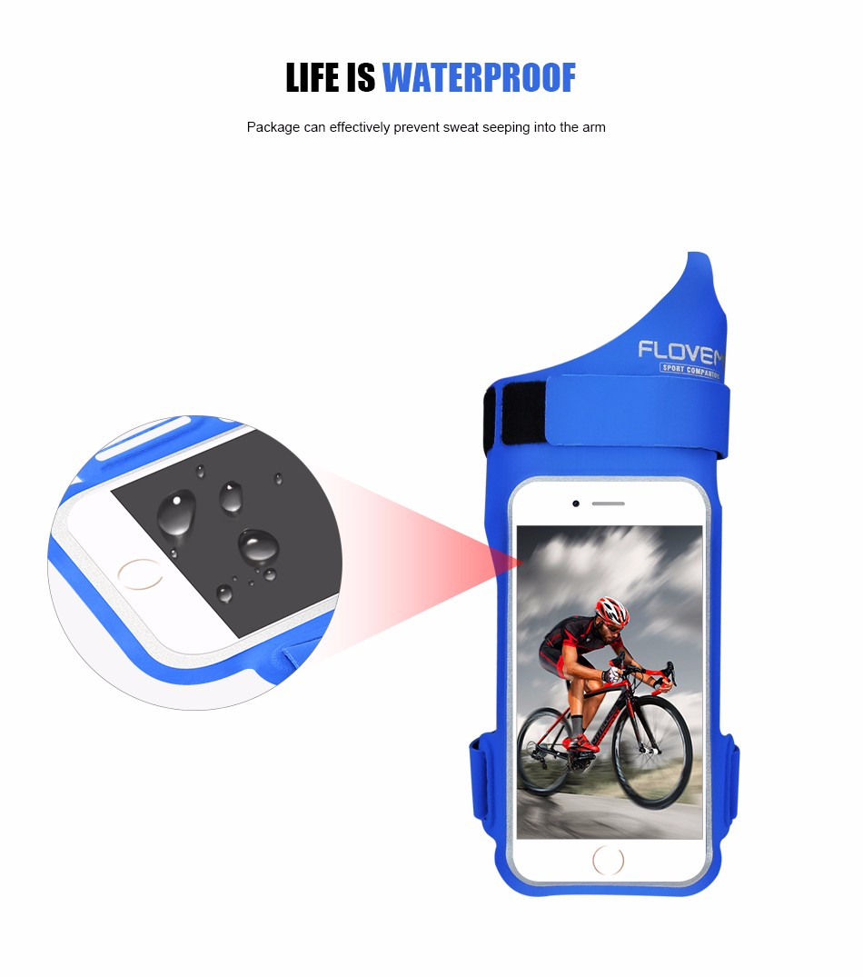 FLOVEME New Cycling Sports ARMBAND Case For Apple Iphone 6 6S Plus SE 4S For Iphone5S For XIAOMI REDMI For HUAWEI P9 Touch Pouch 1 (4)