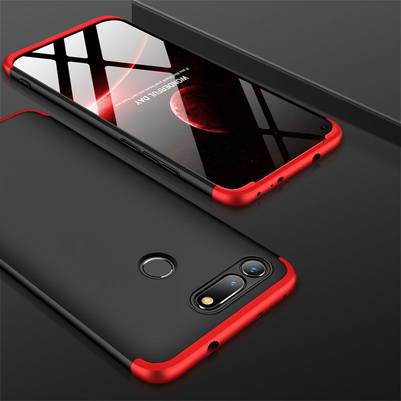 360 Full Protection 3 in 1 Case on for Huawei honor View 20 10 9 8X 8C 7A 7C Mate 20 lite P20 pro Nova 4 3 3i P smart 2019 Cover image