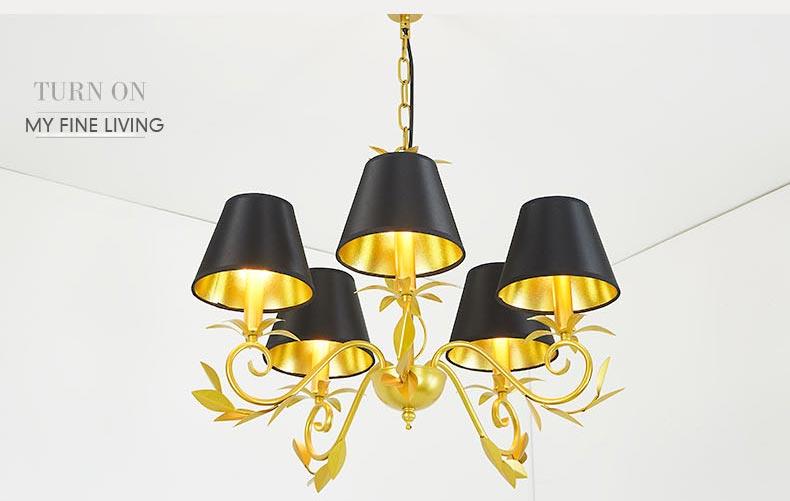Moderne kronleuchter gold design lampen wohnzimmer esszimmer lichter