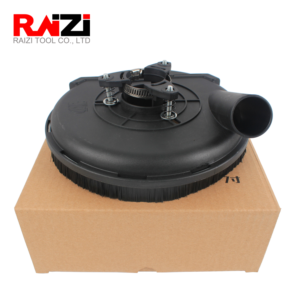 Raizi 5,7 Inch Universal Surface Grinding Dust Shroud Cover Tools For Angle Grinder Dust Collection