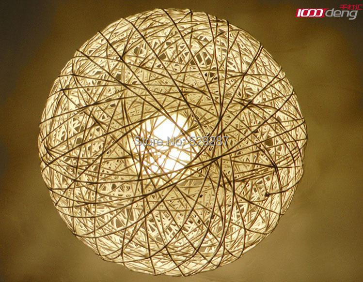 Free shipping Simple rattan ball of wool single head ...