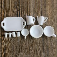 Mini Cups Sets Miniature Dollhouse Decoration Fairy Garden H