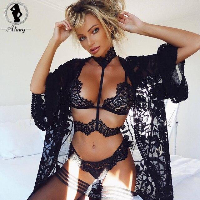 68d176f1860 Home   ALINRY sexy lace bra set women black floral push up transparent  bralette plus size lingerie 2018 seamless underwear briefs sets. Previous.  Next
