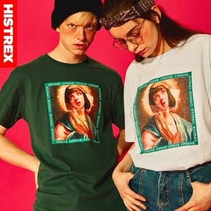 Image 4 - Quentin Tarantino Movie Men T Shirt 100 Cotton Thick Virgin Mary Streetwear Harajuku Funny T shirts Male Clothes Tee Women Mens