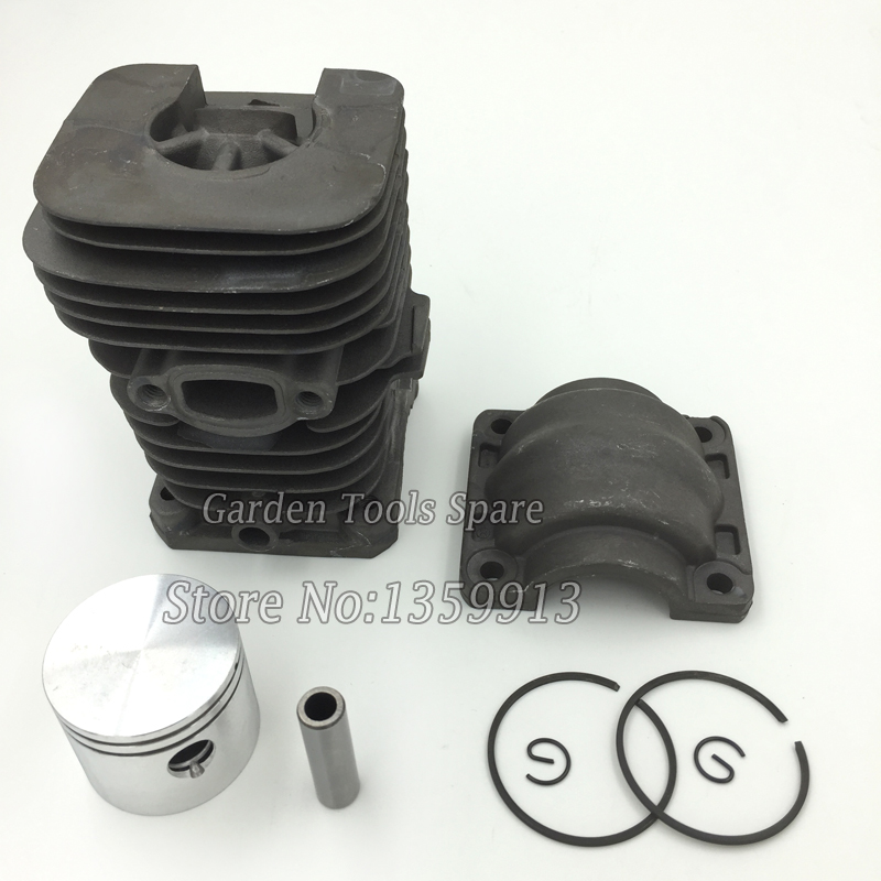 Chiansaw Partner 350 351 cylinder kits assy with piston and rings for sale 41mm cylinder barrel cover piston kit w rings part fit for partner chainsaw 350 351