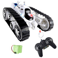 Wheels Flip Stunt Car Model RC Remote Control Tank Battle Stunt Car Kid Toy
