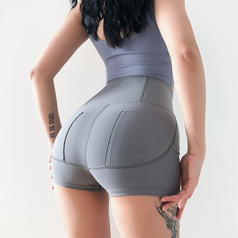Women Compression Slimming Wide Waistband Tummy Control Butt Lifting Yoga Dance Shorts