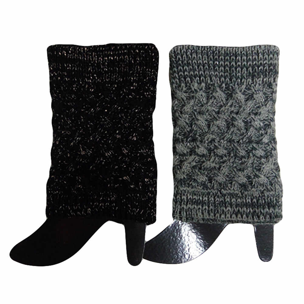 Feitong Hoge Kwaliteit Vrouwen Winter Warm Knit Beenwarmers Haak Leggings Slouch Boot Socks2019 Hot Koop Fashion Gift