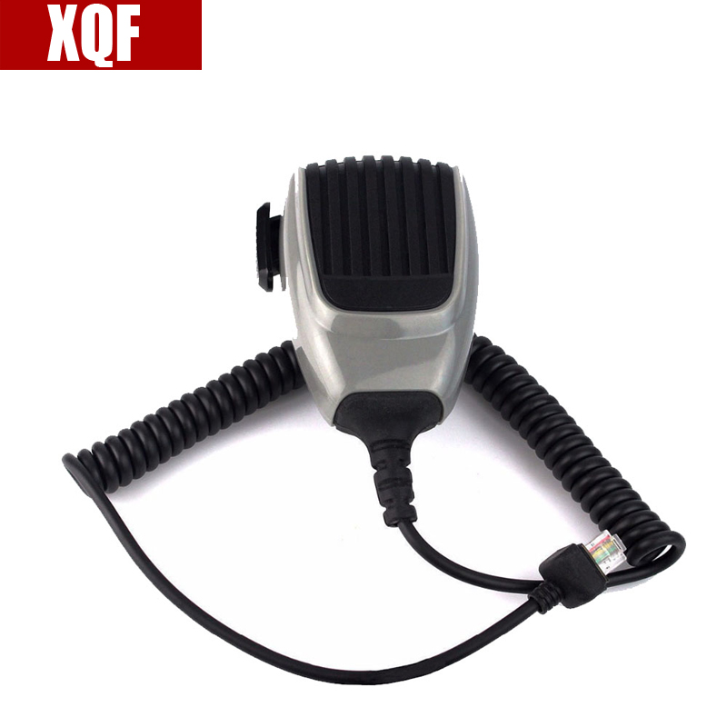 XQF 10PCS  HM-148G PTT Microphone For ICOM IC-F6062 IC-F6121D IC-F6121D Mobile Radio