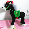 Russian language intelligent talking Dark Horse Stuffed Plush electronic toys,Intellectual Christmas gift for kids baby children