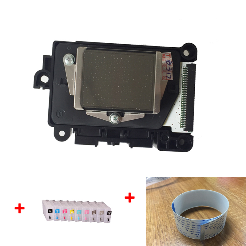 3 PCS/Set Original F177000 DX7 water based printhead for Epson PRO3800/3850/3880/3890 print head +3880 cartridges+cable for dx7 17 34 pins new printhead cables for epson 3800 3850 3880 3885 3890 dx7 f177000 f196000 printer head